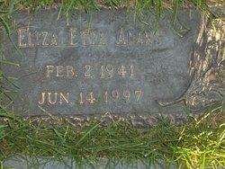 Eliza Etta <i>Eberhart</i> Adams