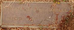 Katherine <i>Drury</i> Dibblee