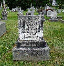Rev William Cushing Adams