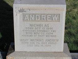 Mary <i>Watkins</i> Andrew