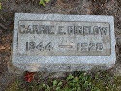 Carrie E Bigelow