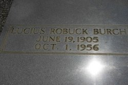 Lucius Robuck Burch, Sr