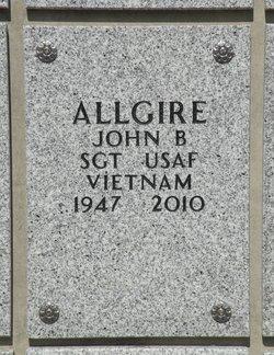 John Brownlee Allgire