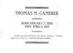 Thomas Milford Camerer