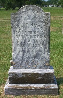 Eva F <i>Hurst</i> Hudgins
