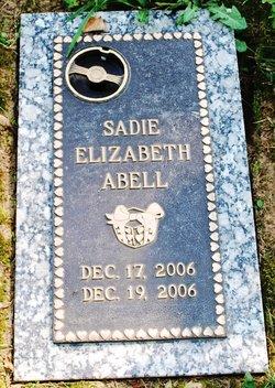 Sadie Elizabeth Abell