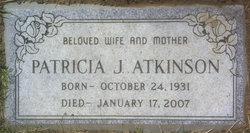 Patricia Jane <i>Balzer</i> Atkinson