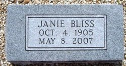 Janie <i>Lummus</i> Bliss