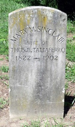 Mary Munford <i>Sinclair</i> Taliaferro