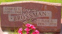 Alice E <i>Hicks</i> Brossman