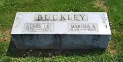Henry Lee Buckley