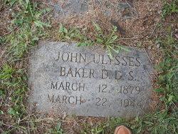 John Ulysses Baker