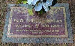 Faith <i>Wilford</i> Boylan