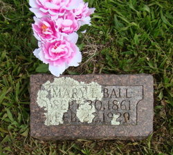 Mary E. <i>Legan</i> Ball