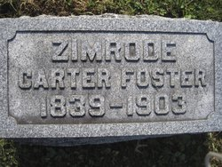 Zimrode Bicknell <i>Carter</i> Foster