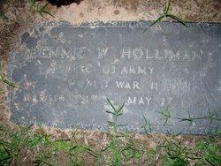 Bennie W Holliman