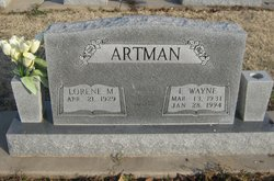 Eltie Wayne Artman
