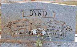 Winnie <i>K</i> Byrd