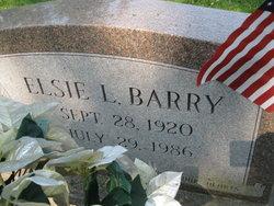 Elsie L <i>Fahey</i> Barry