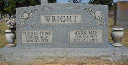 Anna Mae <i>Boyd</i> Wright