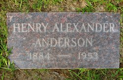 Henry Alexander Anderson