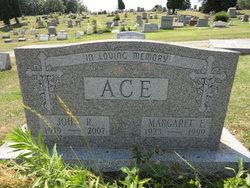 Margaret Elizabeth Tiny <i>Burns</i> Ace