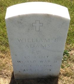 William E. Bill Adams