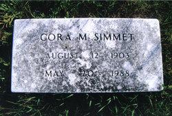 Cora May <i>Mann</i> Simmet