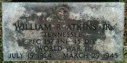 PFC William Rodney Atkins, Jr