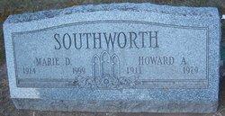 Marie D. <i>Dickerson</i> Southworth