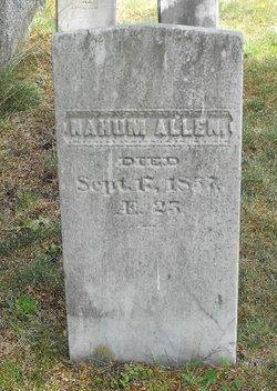 Nahum Allen