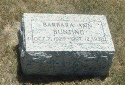 Barbara Ann Bunting