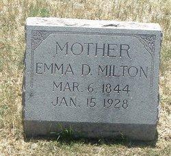 Emma D Milton