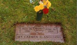 Carmen Maria Carmela <i>Gutierrez</i> Anguiano