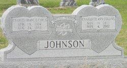 Charlotte Ann <i>Collins</i> Johnson