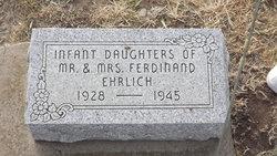 Infant Daughter Ehrlich