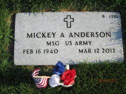 Mickey A Anderson