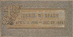Jennie M. <i>Miranda</i> Braun