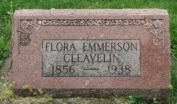 Flora W <i>Emmerson</i> Cleavelin