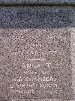 A. B. Chambers