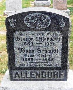Minnie <i>Schmidt</i> Allendorf