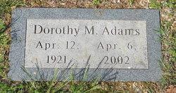Dorothy M. Adams