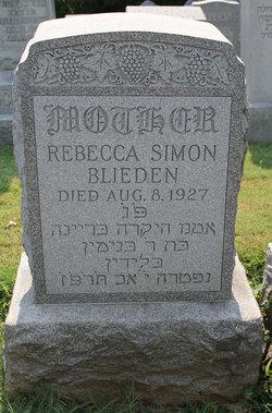 Rebecca <i>Simon</i> Blieden