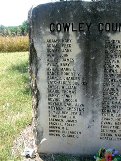 Cowley County Poor Farm Cemetery