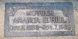 Amanda Jane <i>Bennett</i> Hill