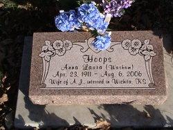 Anna Laura <i>Washam</i> Hoops