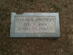 Lula <i>Neal</i> Hawthorn