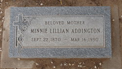 Minnie Lillian Addington