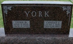 Charles E York