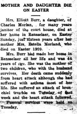 Marjorie Louise <i>Morlan</i> Burr